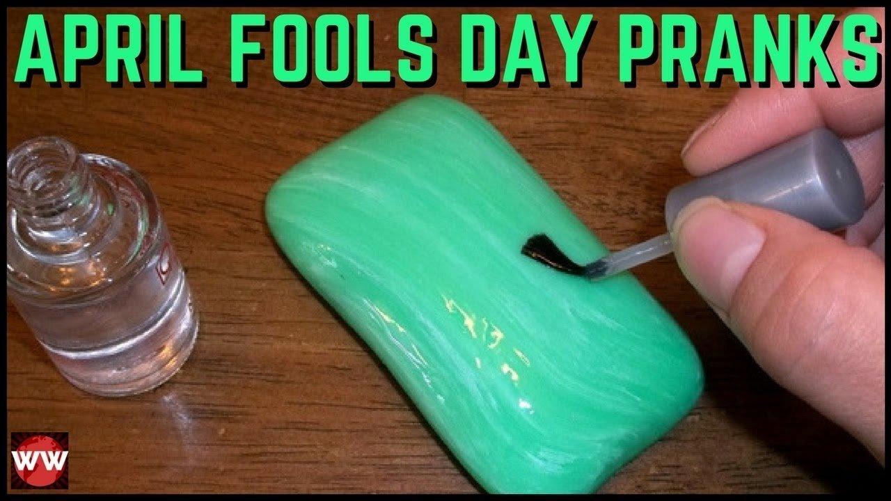 10 Unique April Fools Day Prank Ideas 10 hilarious april fools day pranks how to prank ideas youtube