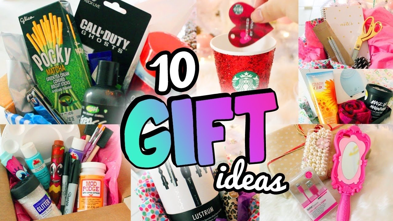 10 Amazing Birthday Ideas For A Friend 10 holiday gift ideas e299a5 friends boyfriends more youtube 2