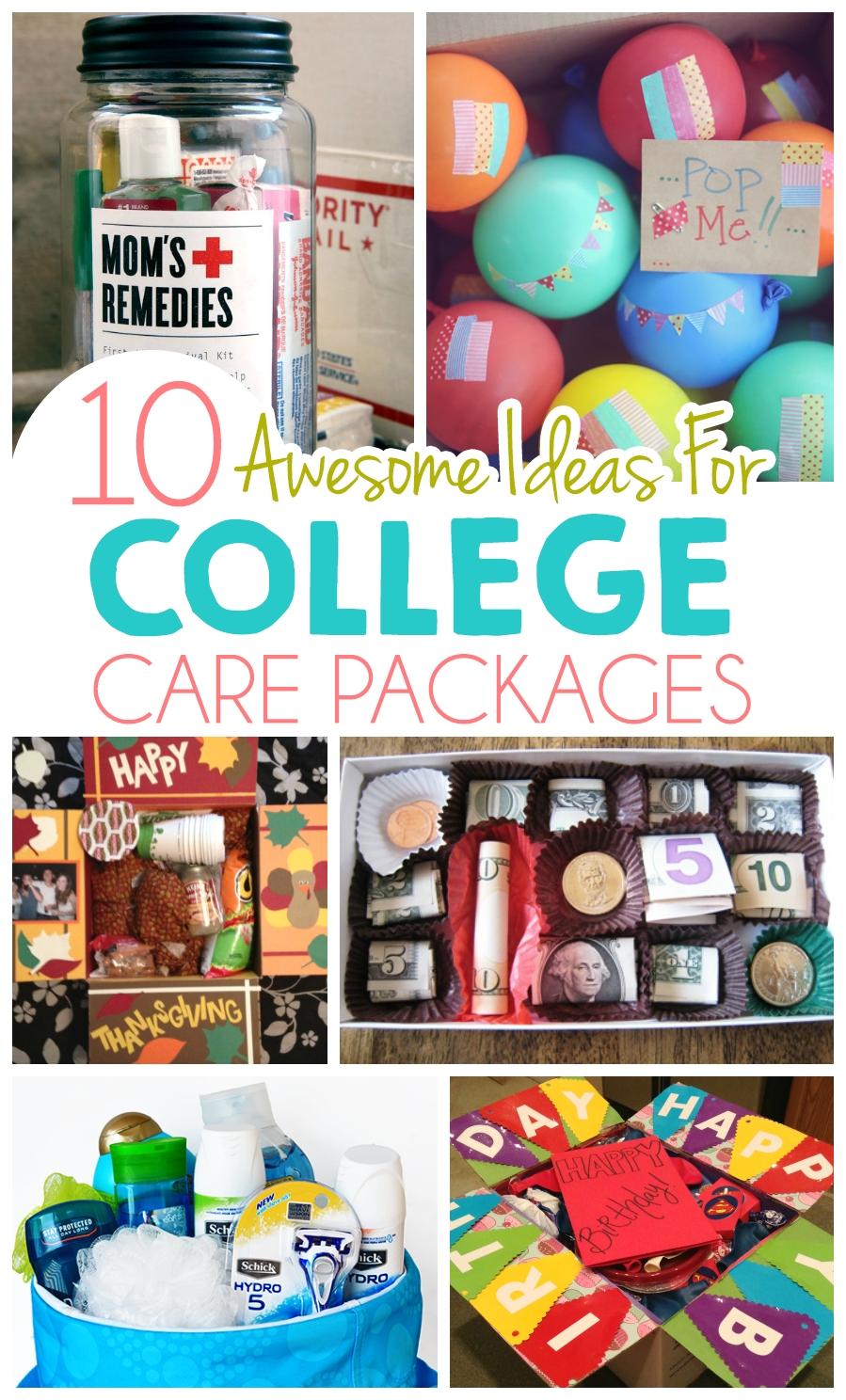 10 Spectacular Gift Ideas For College Boys 10 ideas for college care packages college ads and gift 12 2020