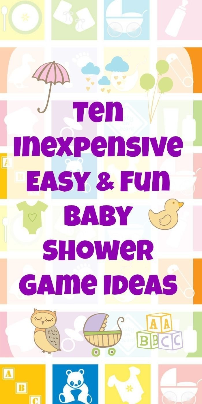 10 Ideal Fun Baby Shower Game Ideas 10 inexpensive easy fun baby shower game ideas 2021