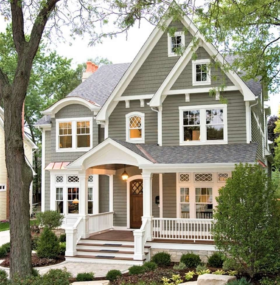 10 Fantastic Exterior Paint Ideas For Homes 10 inspiring exterior house paint color ideas 2 2021
