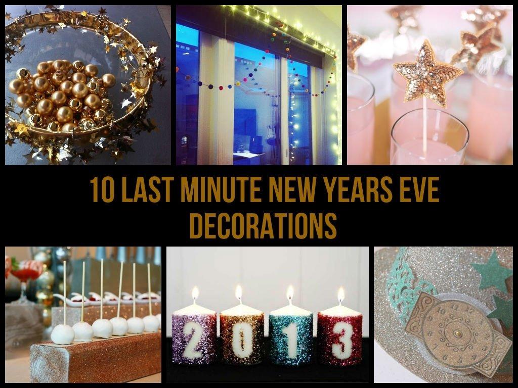 10 Lovable Last Minute New Years Eve Ideas 10 last minute new years eve decorations 2 2020