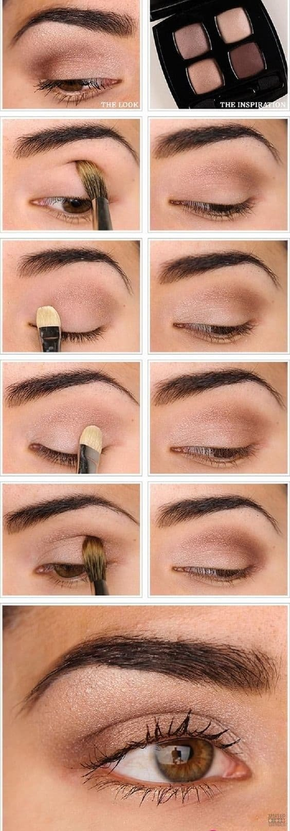 10 Awesome Cute Makeup Ideas For Brown Eyes 10 makeup ideas for brown eyes ritely 2020