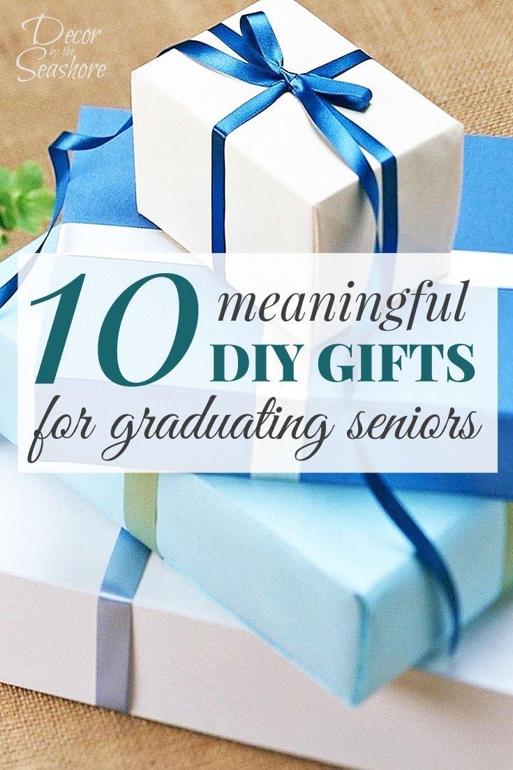 10 Pretty Gift Ideas For Senior Citizens 10 meaningful diy graduation gifts for seniors decorthe seashore 2021