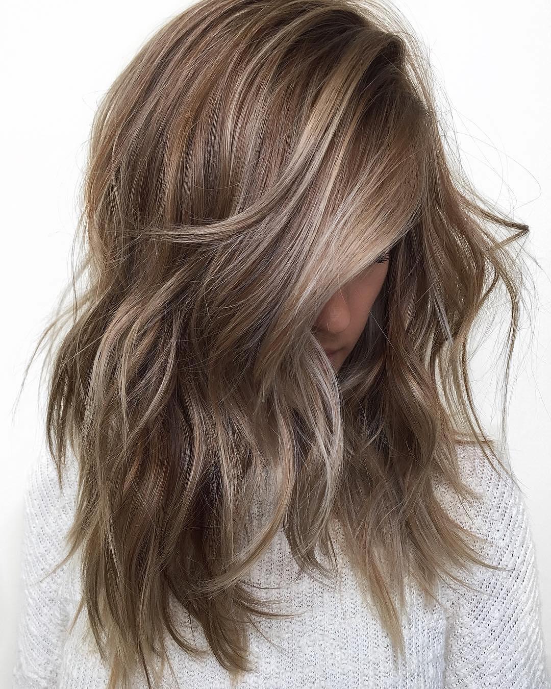 10 Awesome Long Haircut And Color Ideas 10 medium length hair color ideas 2019 2020