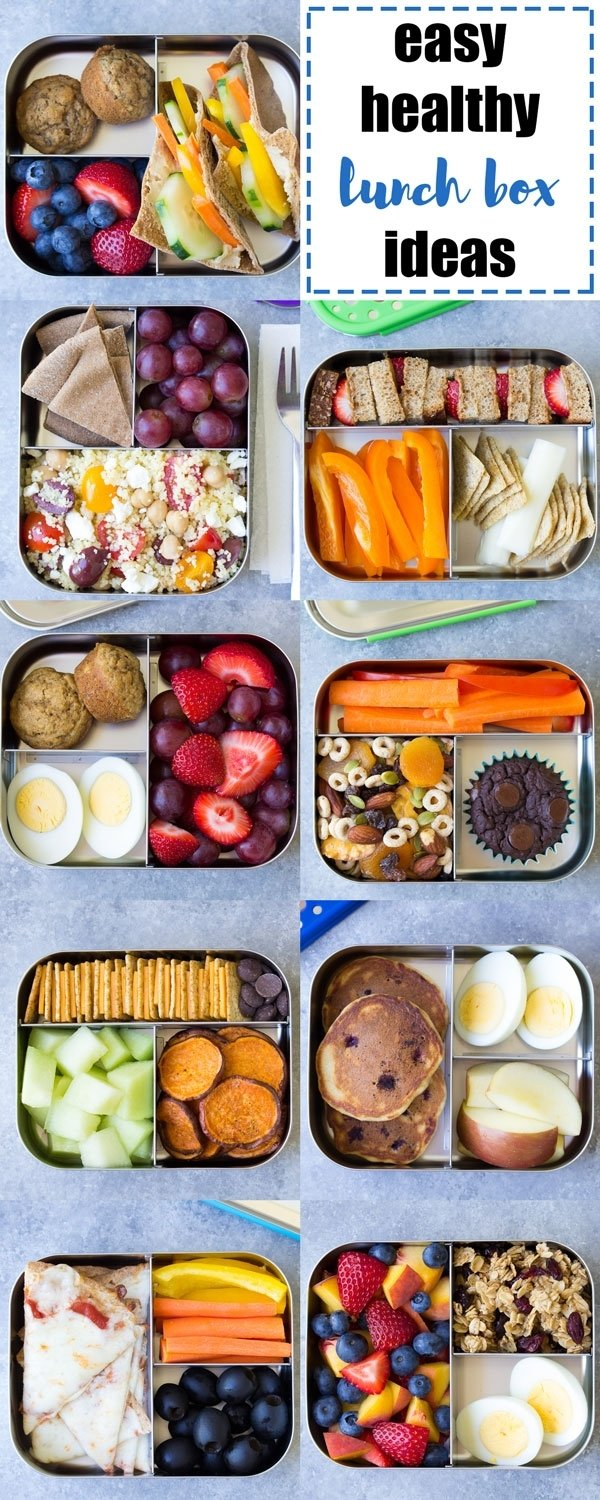 10 Nice Lunch Ideas For School Lunch Box 10 more healthy lunch ideas for kids for the school lunch box or 2 2020