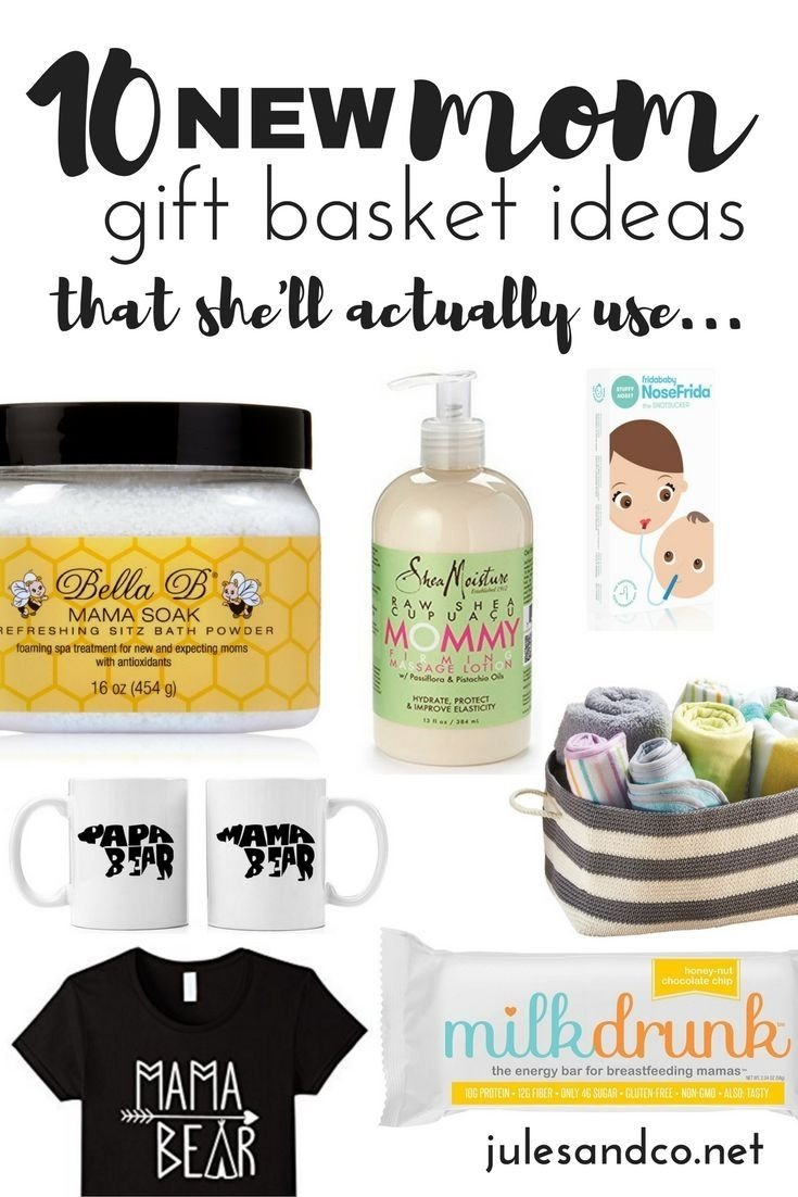 10 new mom gift basket ideas (that she'll actually use