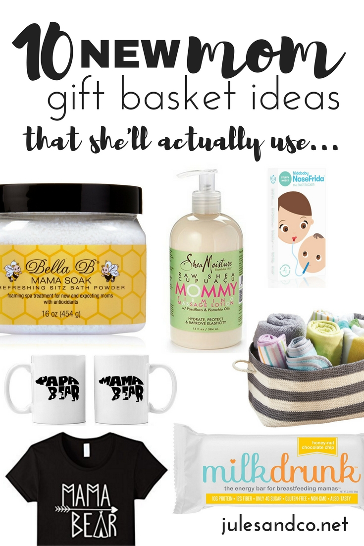 10 Best New Mom Gift Basket Ideas 10 new mom gift basket ideas that shell actually use jules co 2021