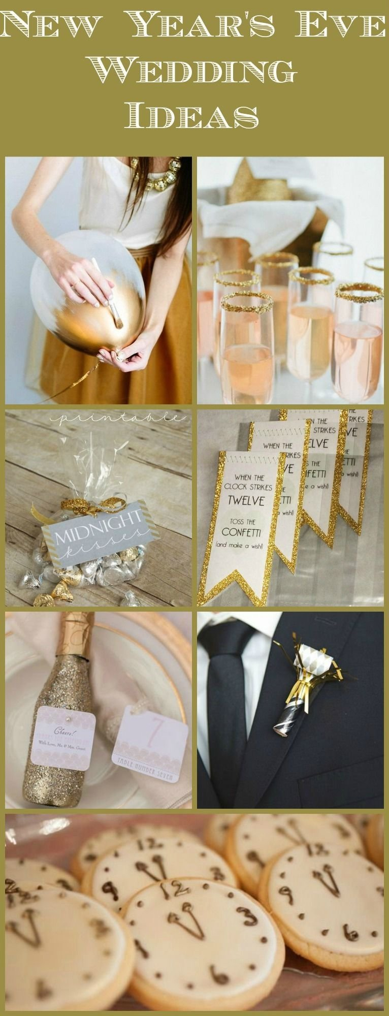 10 Attractive New Years Eve Wedding Ideas 10 new years wedding ideas rustic wedding chic 2020