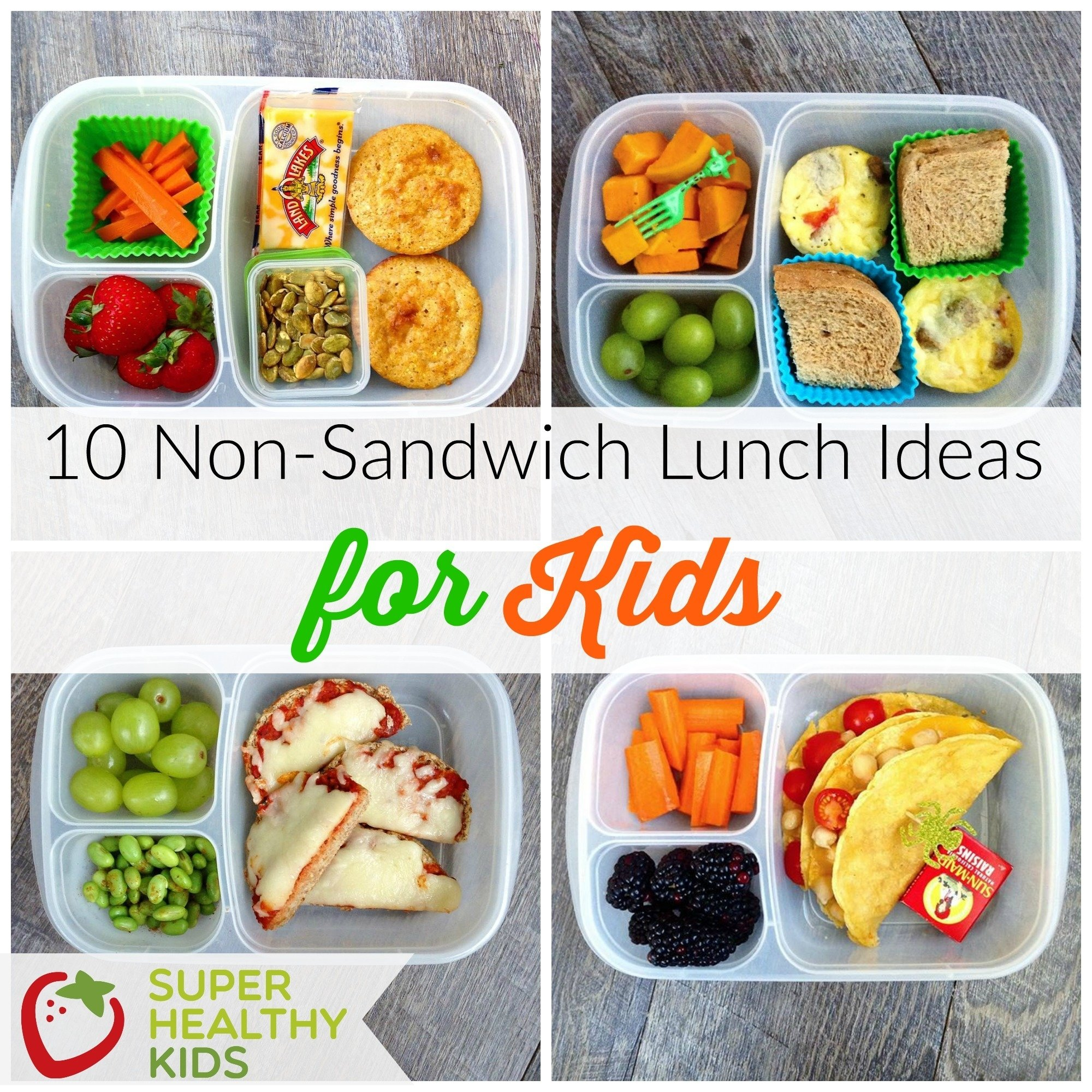 10 non-sandwich lunch ideas for kids | healthy ideas for kids