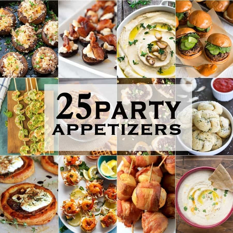 10 party appetizers - the cookie rookie®