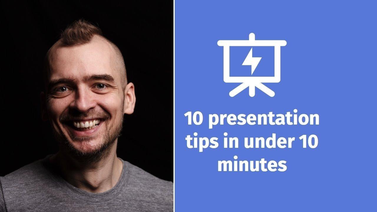 10 Fantastic Bni 10 Minute Presentation Ideas 10 presentation tips in under 10 minutes presentation hero youtube 2020