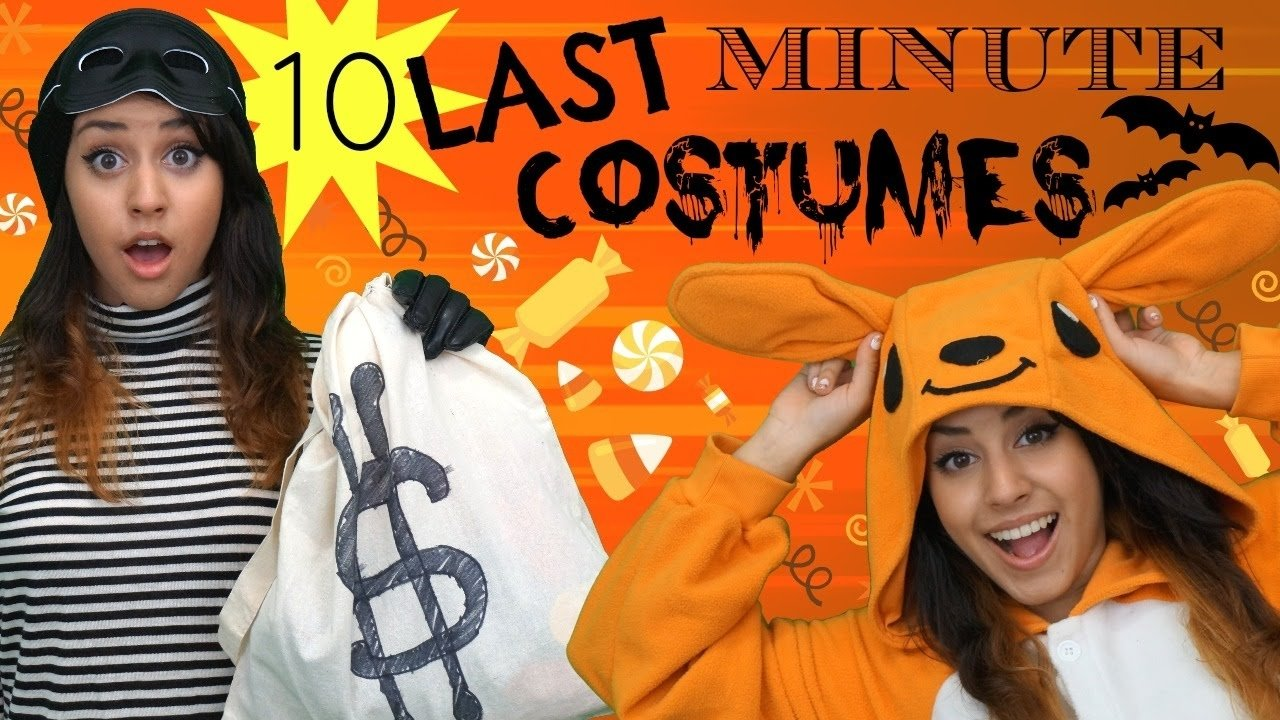 10 Elegant Quick Easy Halloween Costume Ideas 10 quick easy last minute halloween costume ideas 3 2021