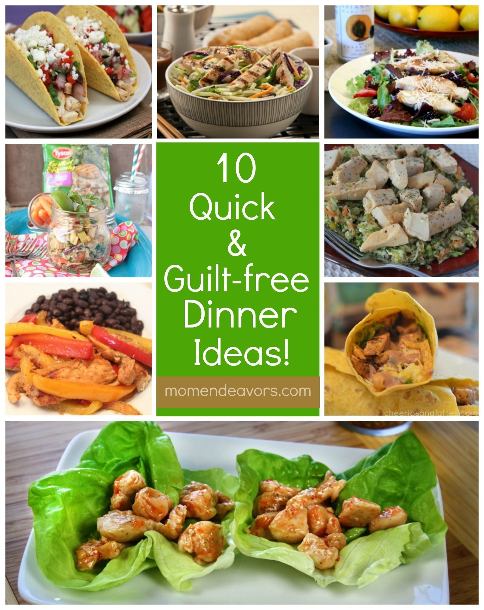 10 Unique Fast Dinner Ideas For Family 10 quick guilt free dinner ideas with tyson grilled ready 2020