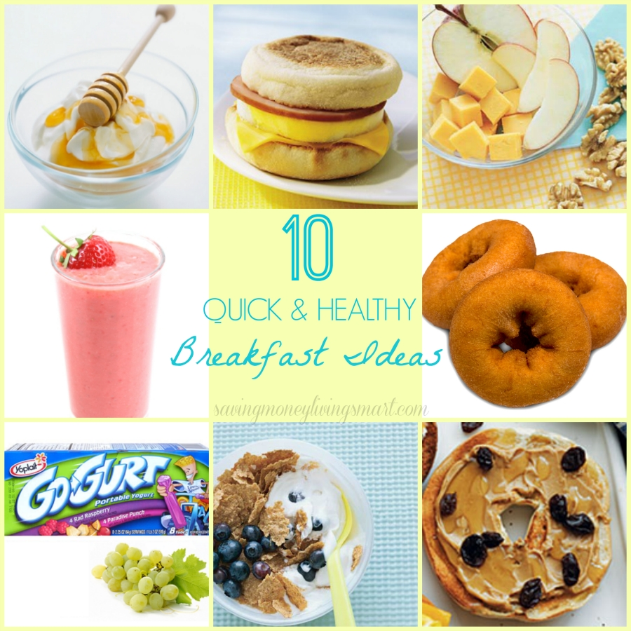 10 Lovely Quick And Healthy Breakfast Ideas 10 quick healthy breakfast ideas saving money living smart 1