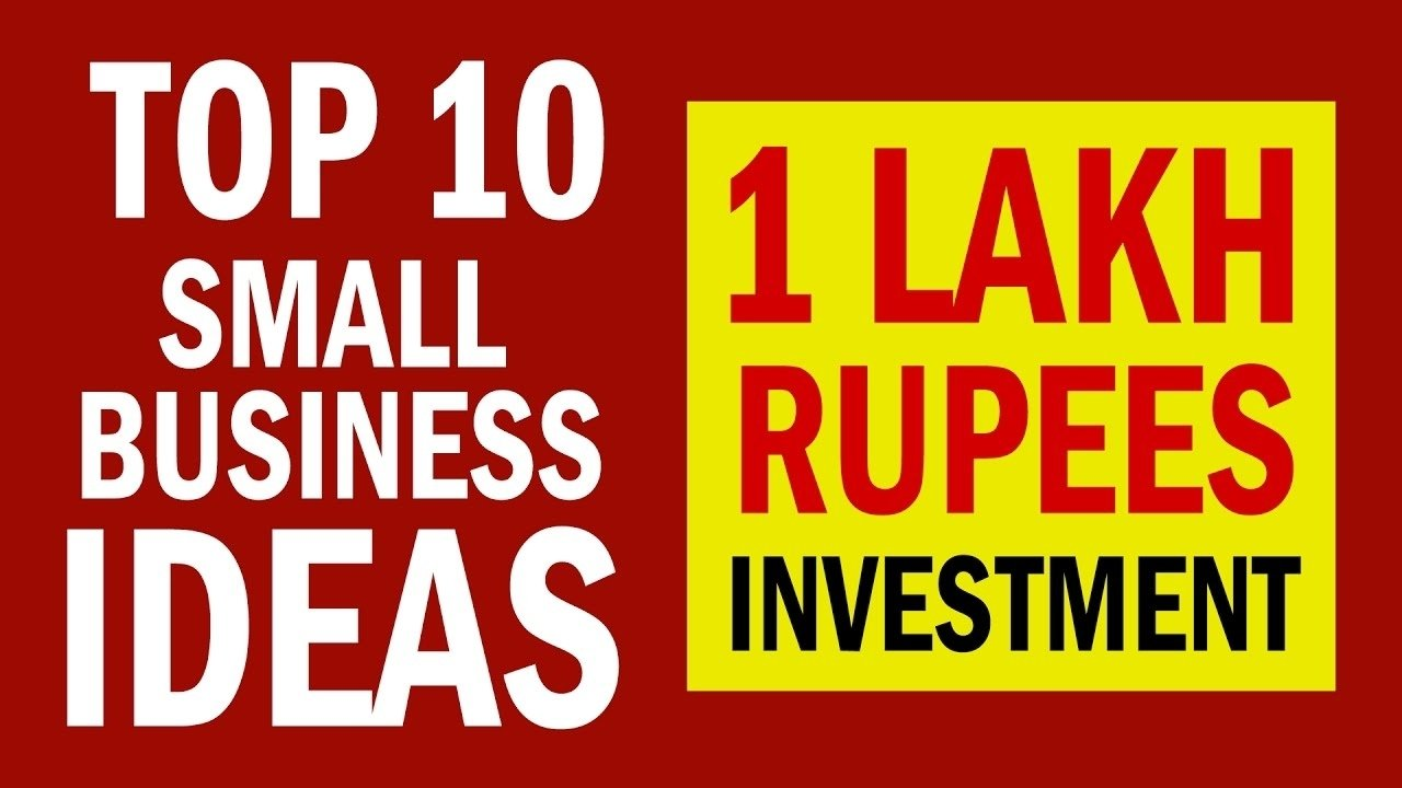 10 Spectacular Small Business Ideas In India 10 small business ideas in india with 1 lakh rupees investment youtube 2 2021