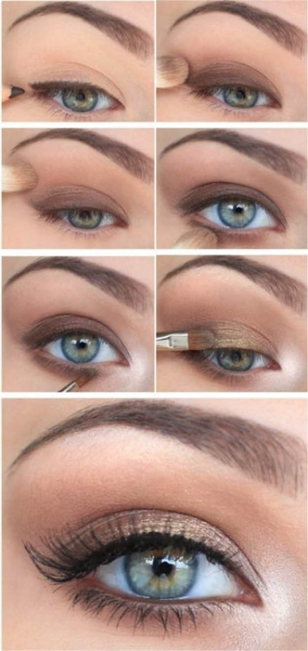10 Nice Eyeshadow Ideas For Green Eyes 10 stepstep makeup tutorials for green eyes her style code 2
