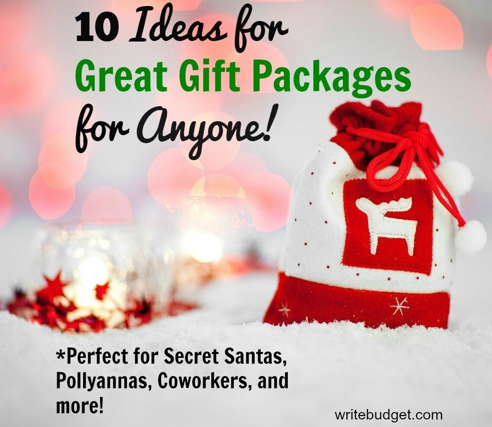 10 Fashionable Secret Santa Gift Exchange Ideas 10 super easy affordable ideas for gift packages the write budget