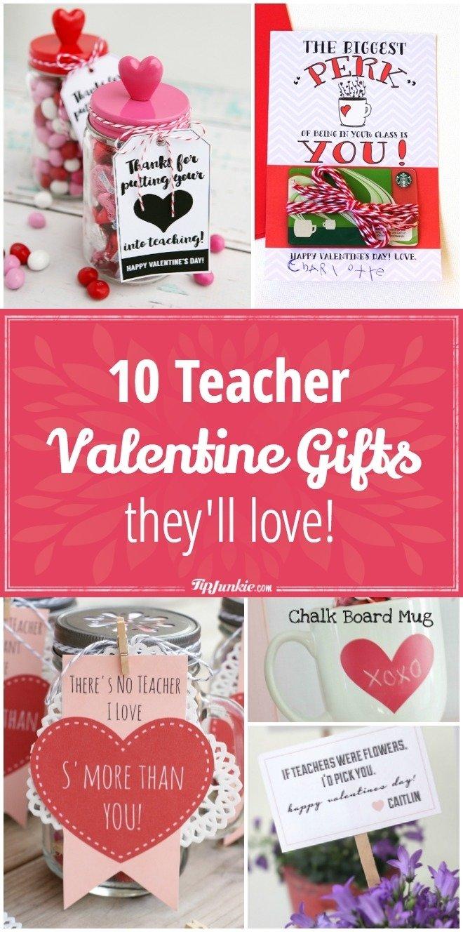 10 Pretty Valentine Gift Ideas For Teachers 10 teacher valentine gifts theyll love tip junkie 2021