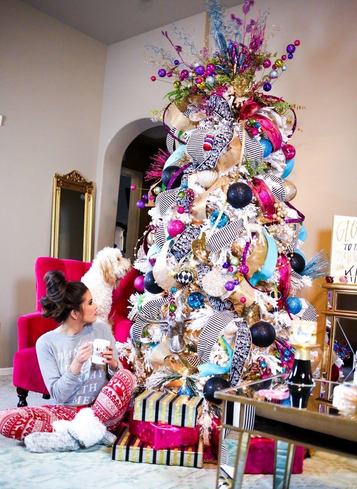 10 Pretty Unique Christmas Tree Decorating Ideas 10 totally unique christmas tree decorating ideas studio m blog