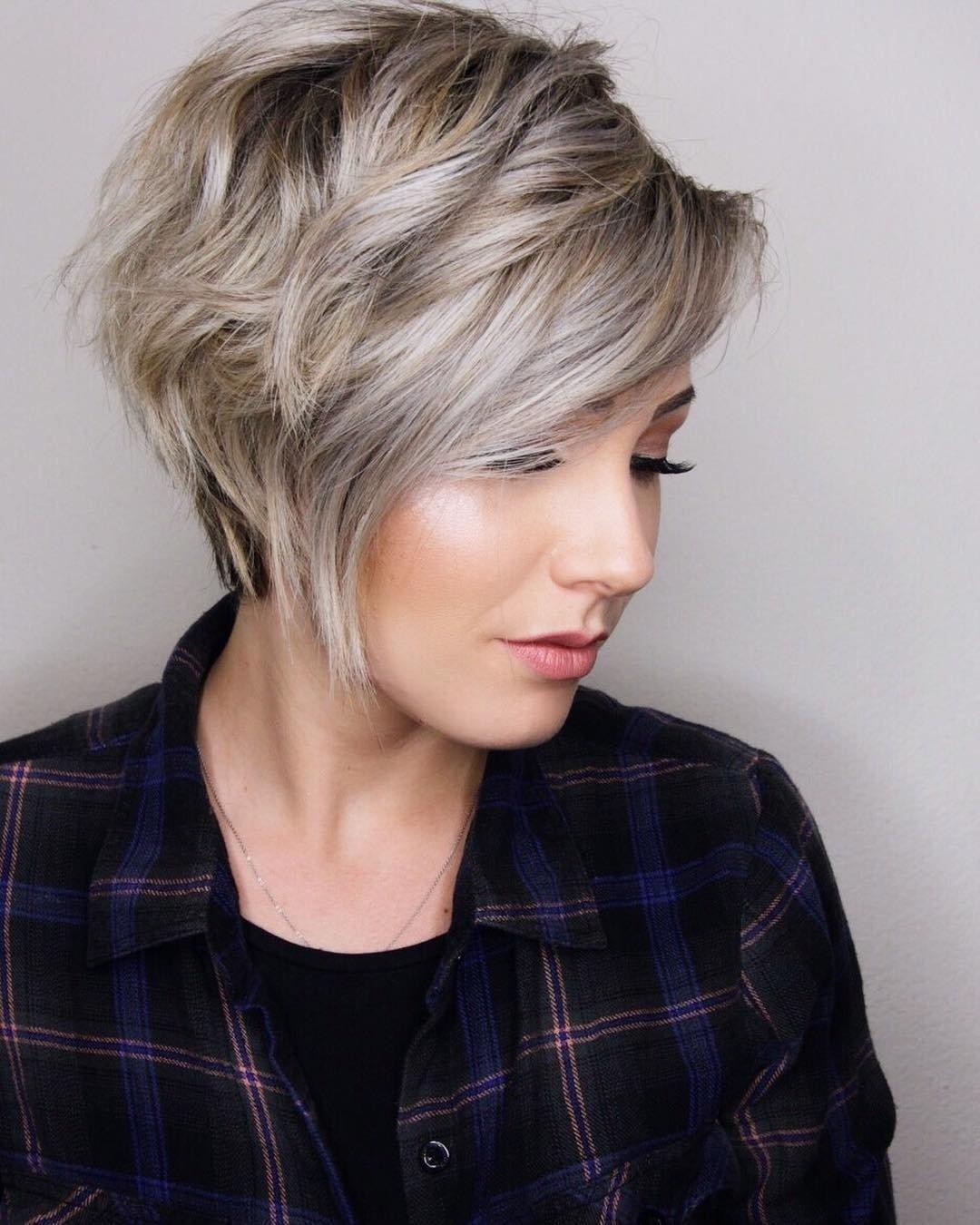 10 Nice Haircut Ideas For Short Hair 10 trendy layered short haircut ideas for 2017 2018 extra inside 2021