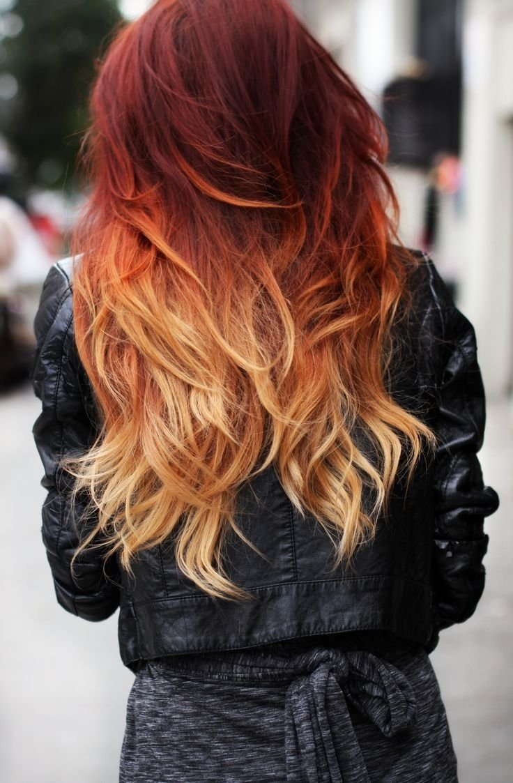 10 Ideal Hair Color Ideas For Redheads 10 two tone hair colour ideas to dye for ombre hair hair 2 2020