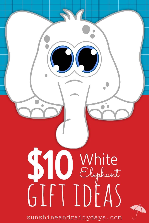 10 Perfect White Elephant Gift Exchange Ideas 10 white elephant gift exchange ideas sunshine and rainy days 2021