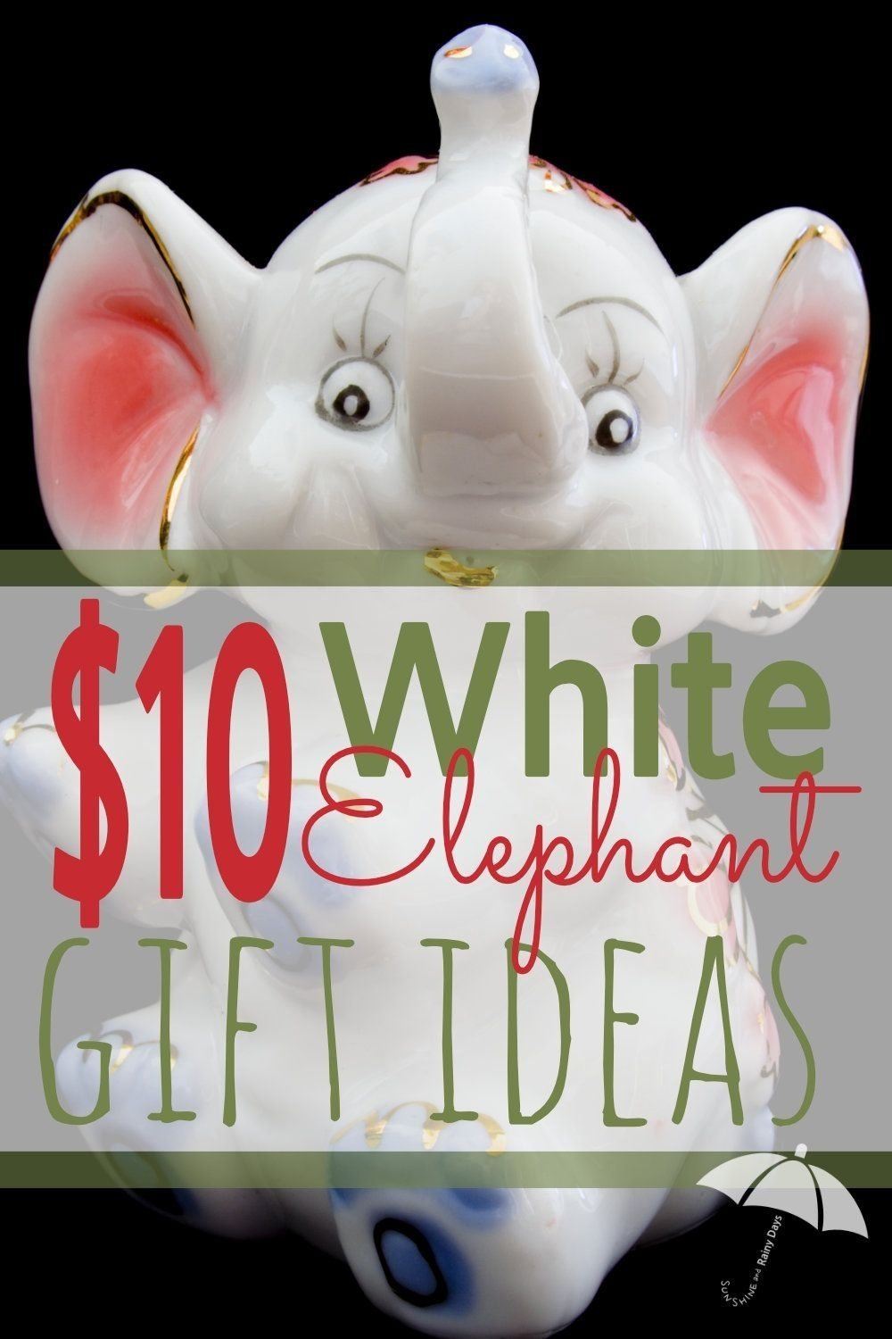 10 Nice Creative White Elephant Gift Ideas 10 white elephant gift exchange ideas white elephant gift gift 1 2020