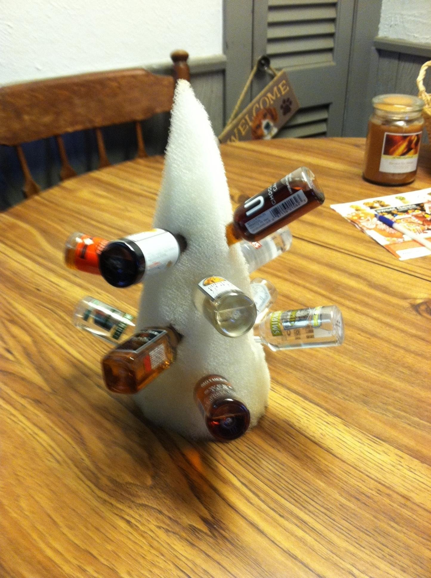 10 Attractive Office Yankee Swap Gift Ideas 10 yankee swap 12 nips on a foam tree best grab gift favorite