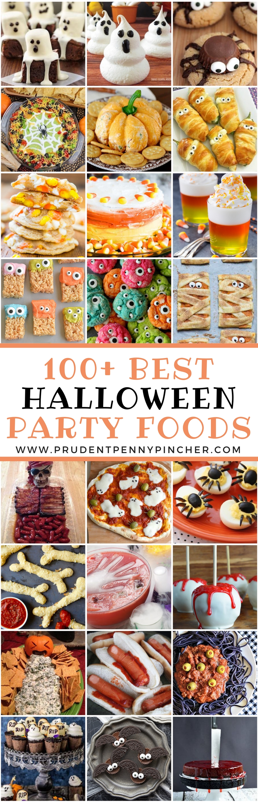 10 most popular halloween party food ideas adults 100 best halloween foods prudent penny pincher
