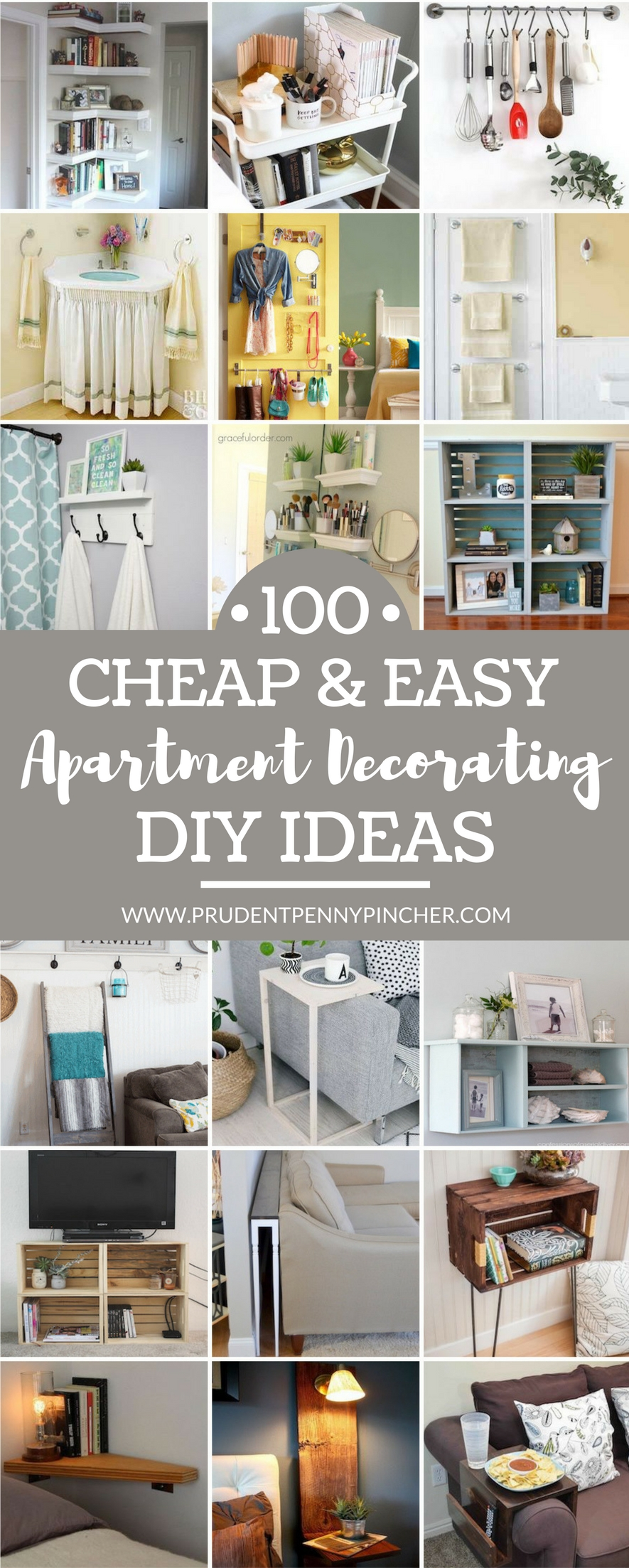 10 Most Popular Diy Decorating Ideas For Apartments 100 cheap and easy diy apartment decorating ideas prudent penny 2020