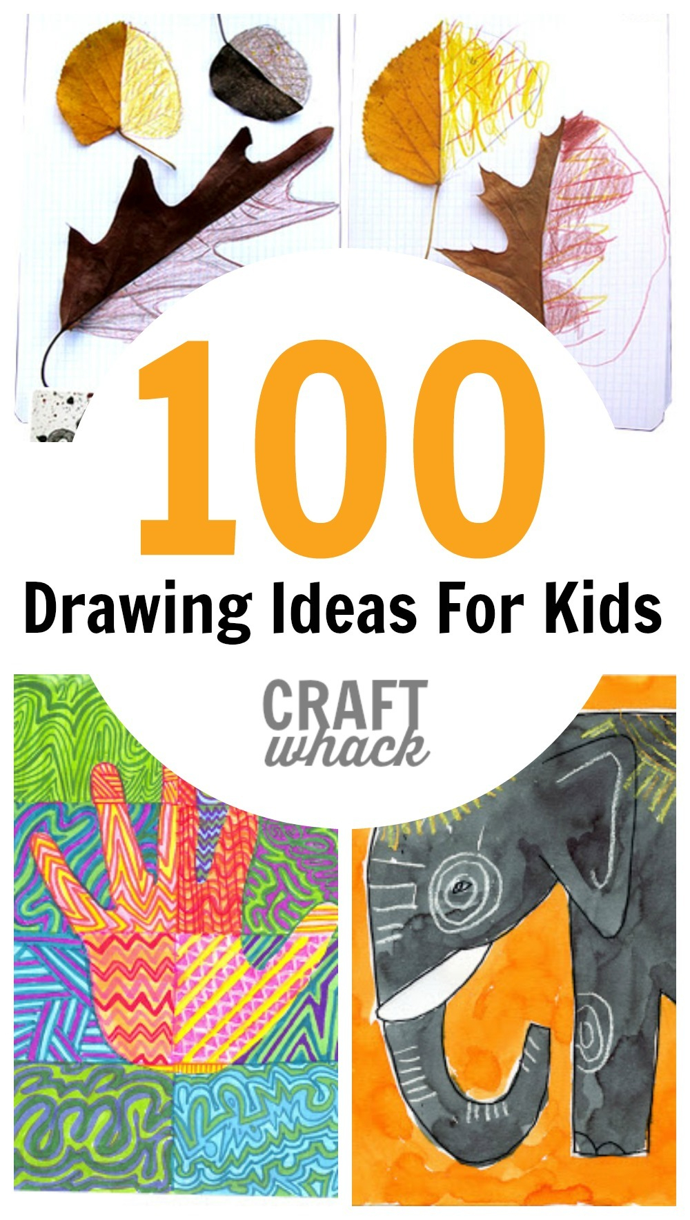 10 Unique Ideas For Kids To Draw 100 crazy cool drawing ideas for kids c2b7 craftwhack 1 2020