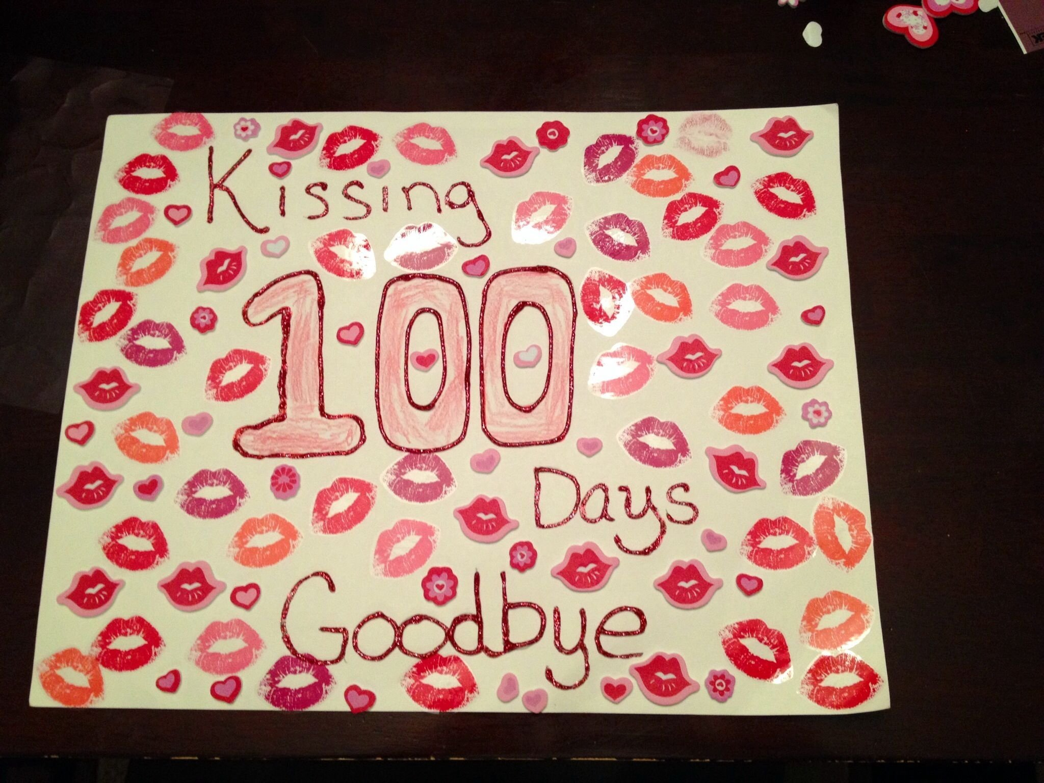 10 Cute 100Th Day Of School Poster Ideas 100 days of school poster school projects pinterest school