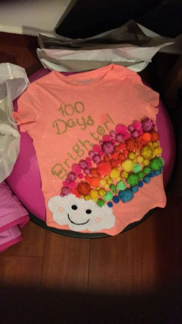 10 Ideal 100 Days Of School T Shirt Ideas 100 days of school shirt back to school crafting activities 1