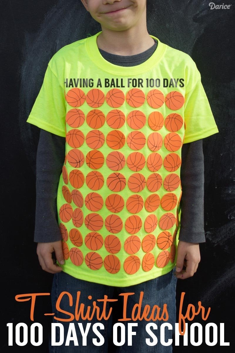 10 Ideal 100 Days Of School T Shirt Ideas 100 days of school shirt ideas for students darice 6