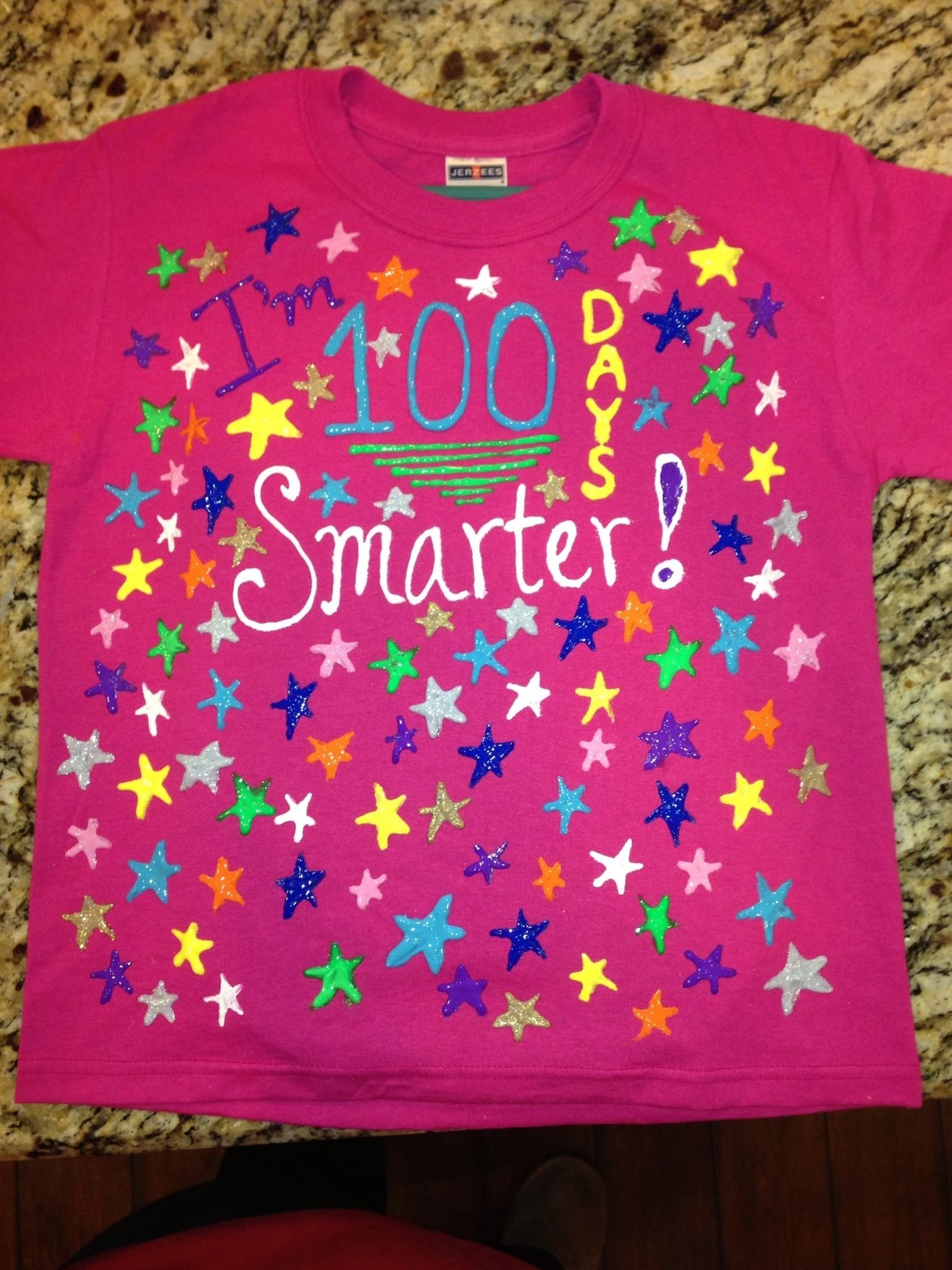 10 Amazing Ideas For The 100Th Day Of School 100 days smarter shirt for 100th day celebration 2021