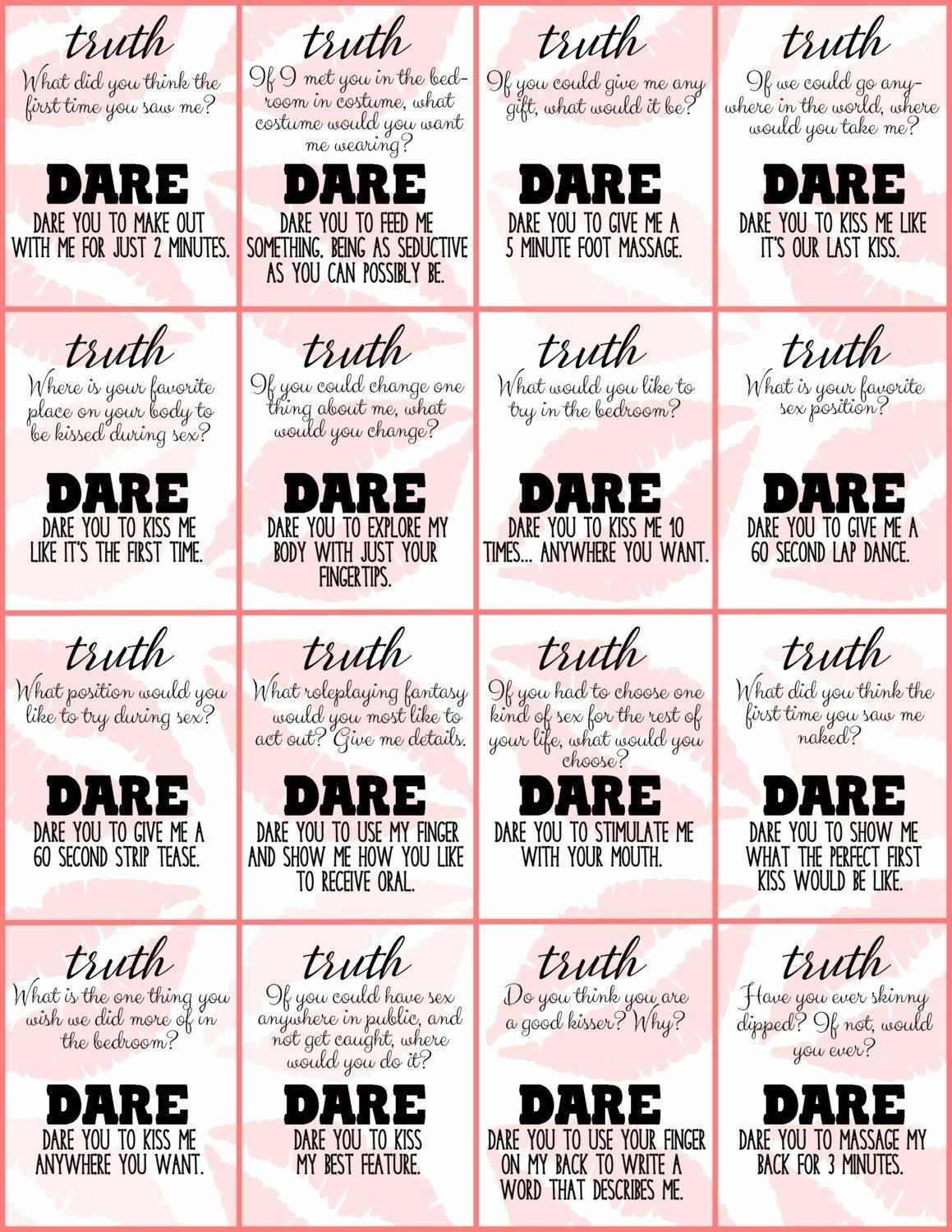 10 Fashionable Extreme Truth Or Dare Ideas 100 dirty questions to ask a girl truths relationships and 2021