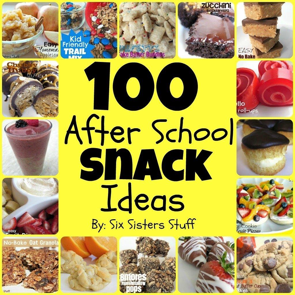 10 Fantastic School Snack Ideas For Kids 100 easy after school snacks six sisters stuff 2020