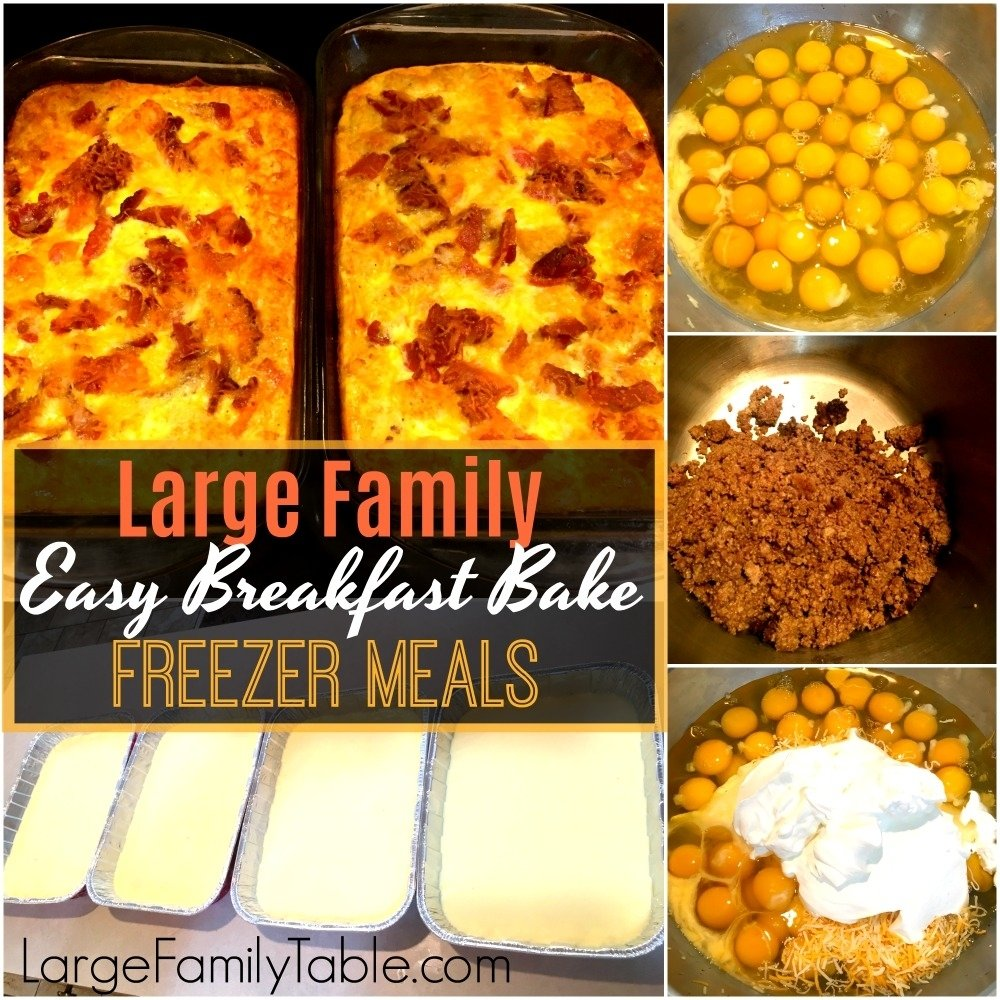 10 Trendy Cheap Meal Ideas For Large Families 100 freezer meals for big families including june 2017 large