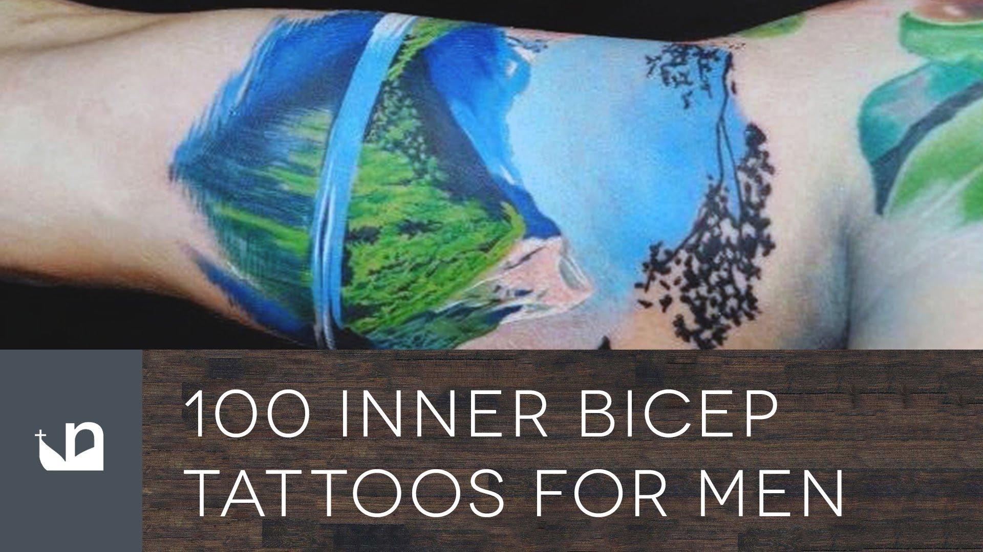 10 Spectacular Inner Bicep Tattoo Ideas For Men 100 inner bicep tattoos for men youtube 2020