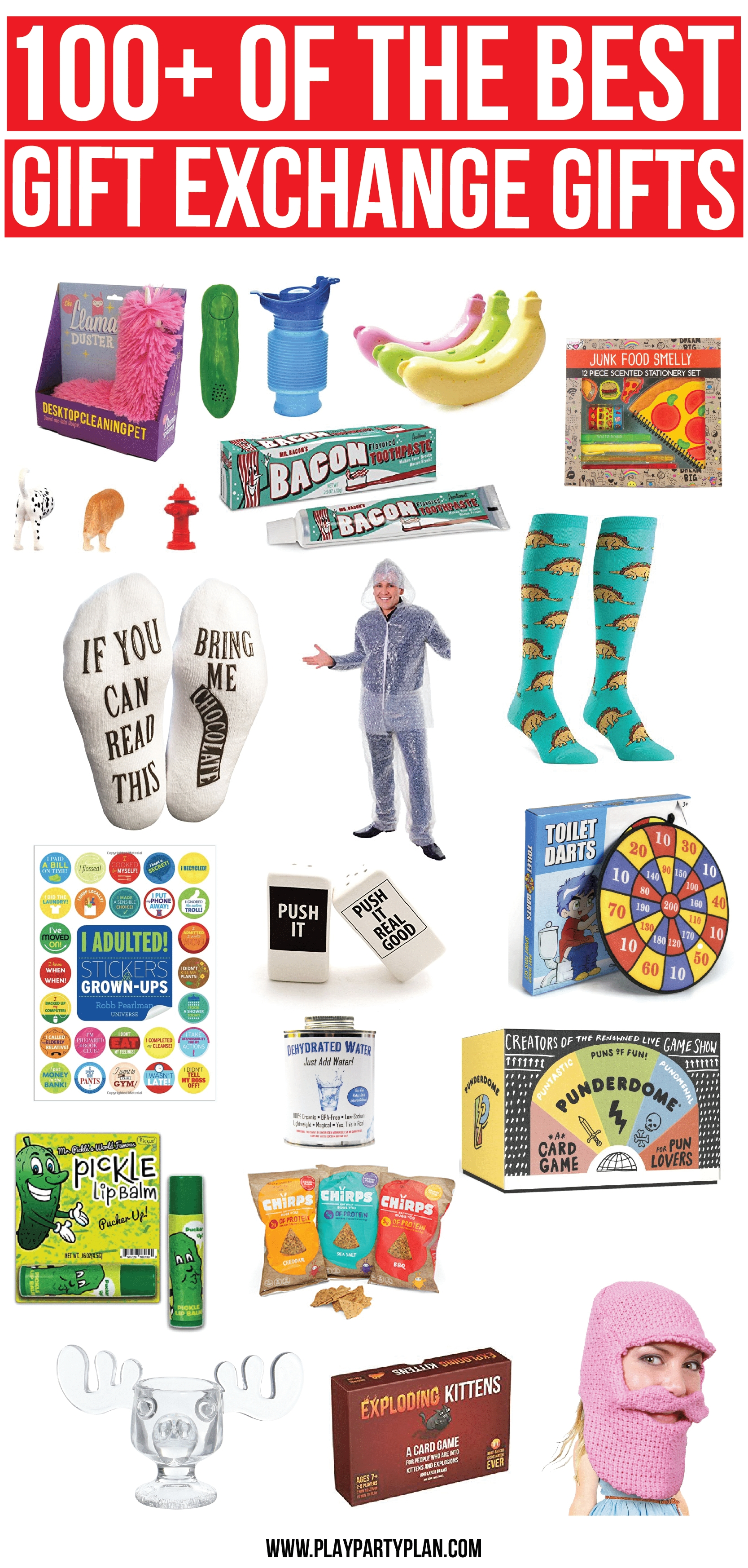 100+ of the best white elephant gifts & other gift ideas - play