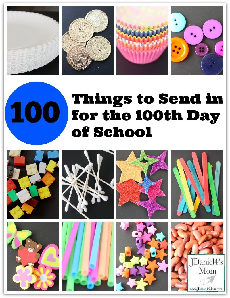 10 Unique 100Th Day Of School Ideas 100 things to send in for the 100th day of school jdaniel4s mom 3 2020