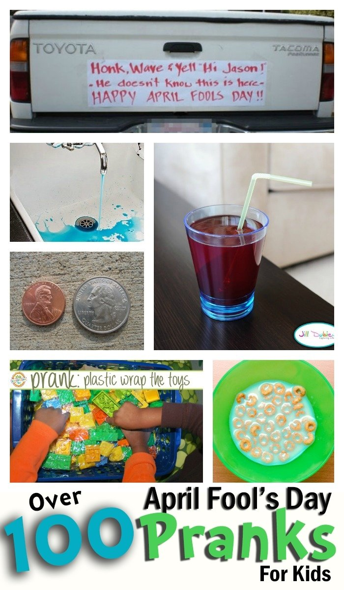 10 Wonderful April Fools Ideas For Kids 100 totally awesome pranks for kids april fools pranks holidays 2020