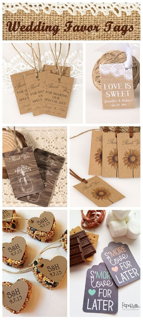 10 Elegant Make Your Own Wedding Favor Ideas