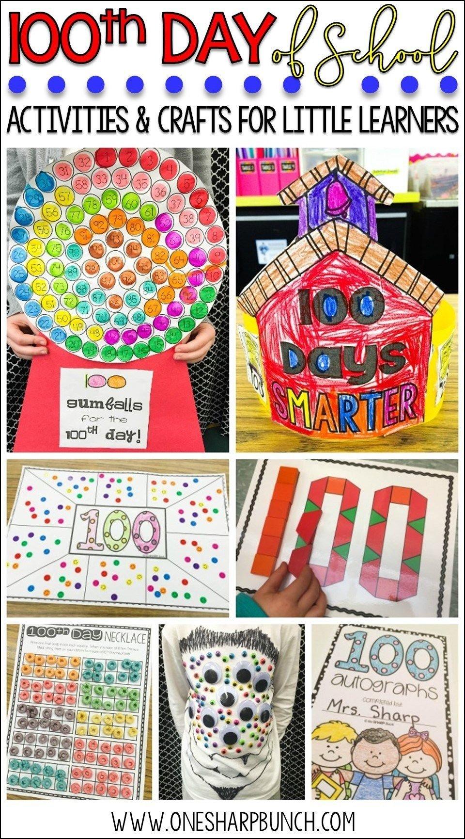 10 Unique 100Th Day Of School Ideas 100th day of school activities 100e jour 100 jours et les 100 2020