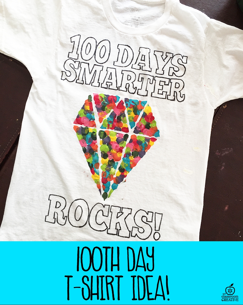 10 Gorgeous 100 Days Of School Shirt Ideas 100th day of school t shirt idea 1 2021