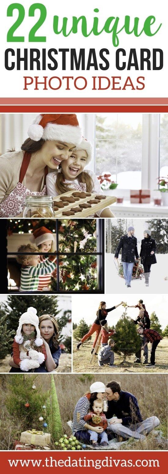 10 Fashionable Cute Christmas Card Photo Ideas 101 creative christmas card ideas the dating divas 2020
