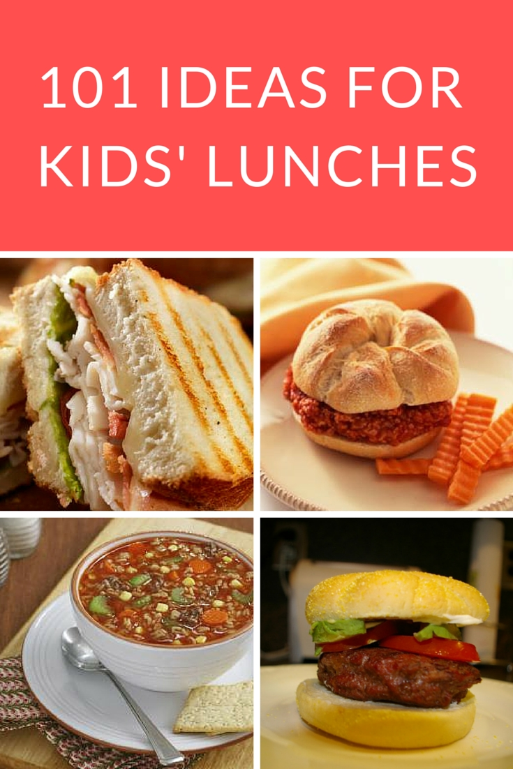 101 easy lunch ideas for kids | school lunch, lunches and tasty