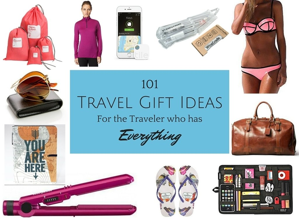 10 Lovely Gift Ideas For The Traveler 101 travel gift ideas for travelers who have everything 3 2020