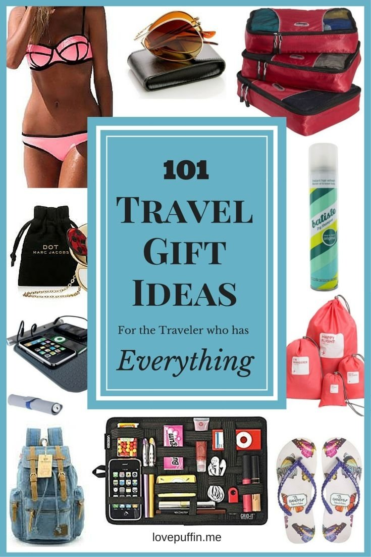 10 Nice Christmas Gift Ideas For Men Who Have Everything 101 travel gift ideas for travelers who have everything travel 2 2020